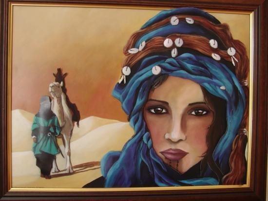 Shéhérazade dans le désert