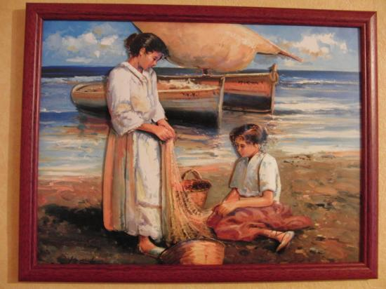 Femmes à la pêche
