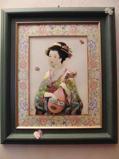 La geisha musicienne