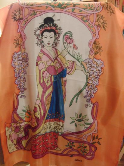 La Geisha fleurie