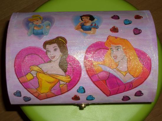 Coffre Princesses