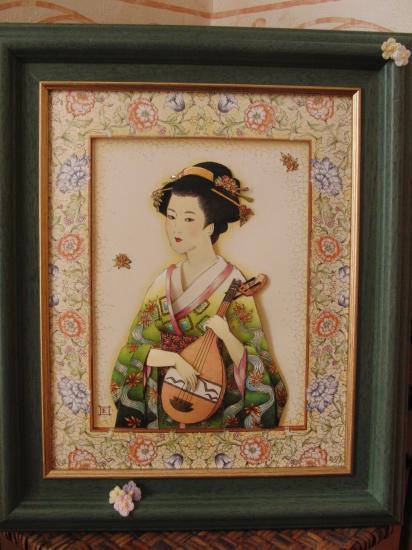 Geisha musicienne