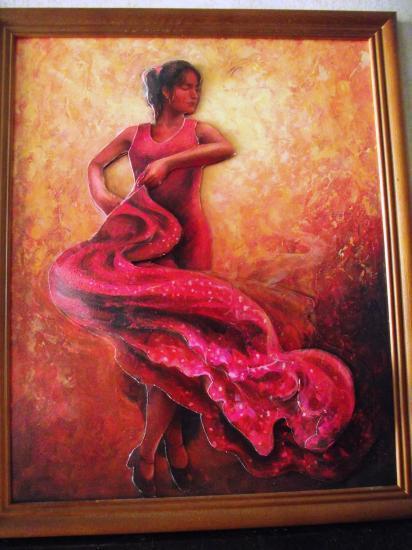 Esméralda, danseuse de flamenco